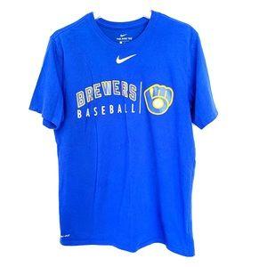 Milwaukee Brewers Nike Dri Fit MLB Tshirt